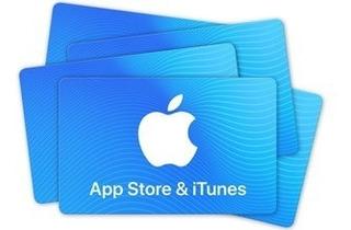 Tarjeta Itunes Appstore Apple Musica Aplicaciones Juegos