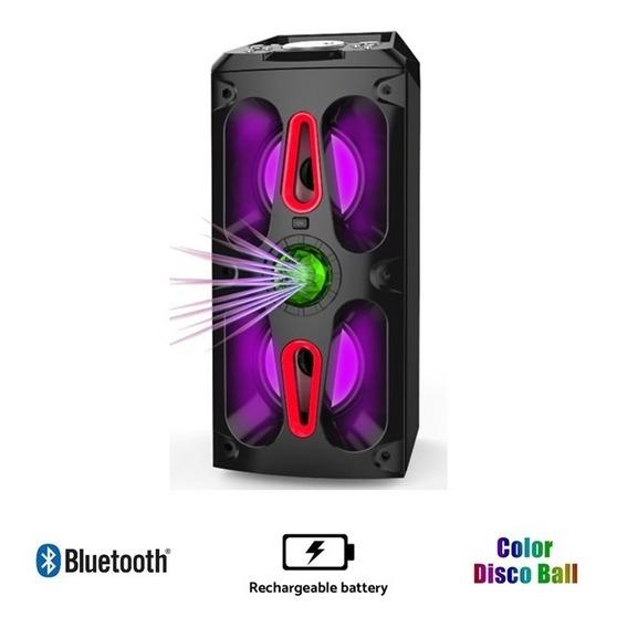Parlante Bluetooth Luces De Fiesta Sanyo Bth25