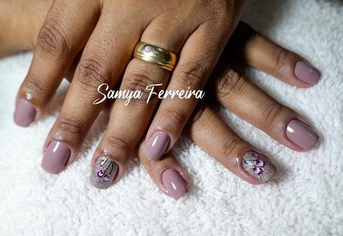 Manicure/pedicure, Design De Sombrancelhas,progressiva