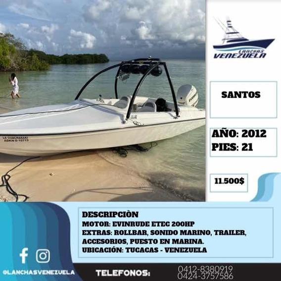 Lancha Santos 21 Lv299