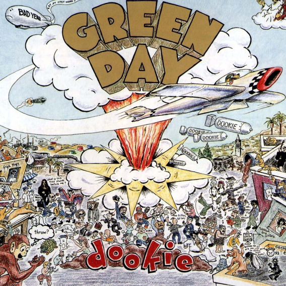 Green Day Dookie Vinilo Picture Disc Nuevo Importado
