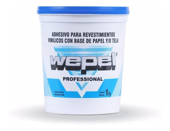 Adhesivo Wepel Profesional Para Empapelados X 1 Kg. Oferta