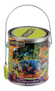 Zombie Zity Balde Tacho Con Figuras , Slime Y Acces. Dracco