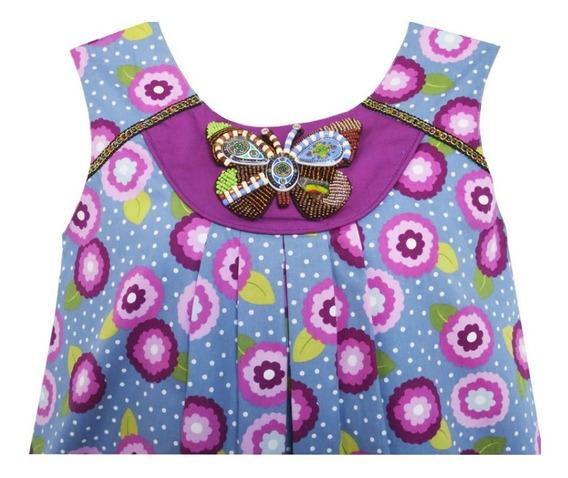 Vestido Nena Importado De China Bordado