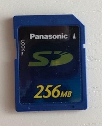 Cartão De Memória Panasonic 256 Mb