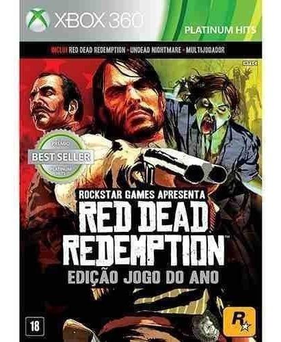Red Dead Redemption Edição Do Ano - Xbox 360/one - Física