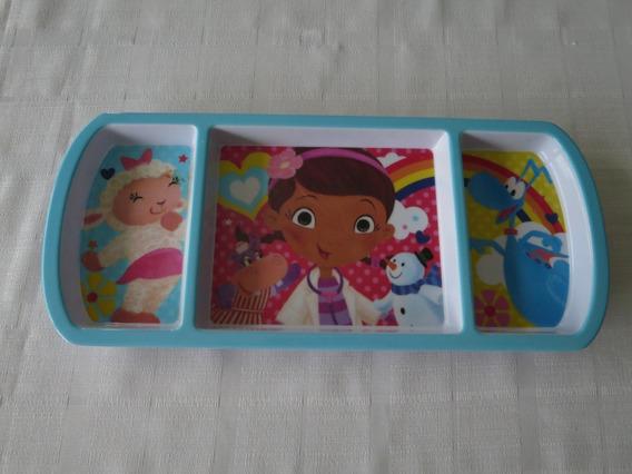 Prato Infantil Plástico Disney Store Doutora Brinquedos