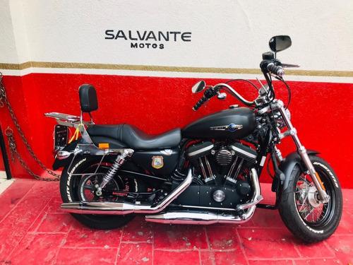Harley-davidson Sportster Xl 1200 Cb 2014 Preta