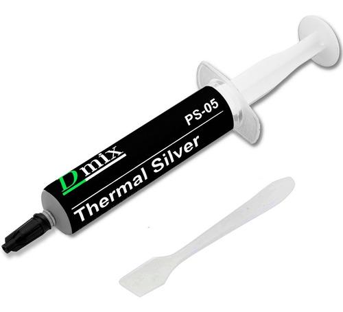 Imagem 1 de 6 de Pasta Térmica Prata 5g Thermal Silver Processador Note E Pc
