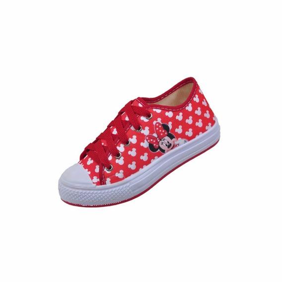 Tenis Infantil Minnie Vermelha