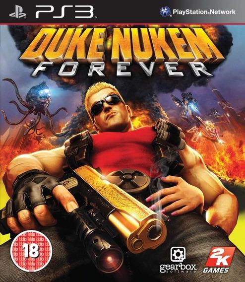 Duke Nukem Forever Mídia Física Original Ps3