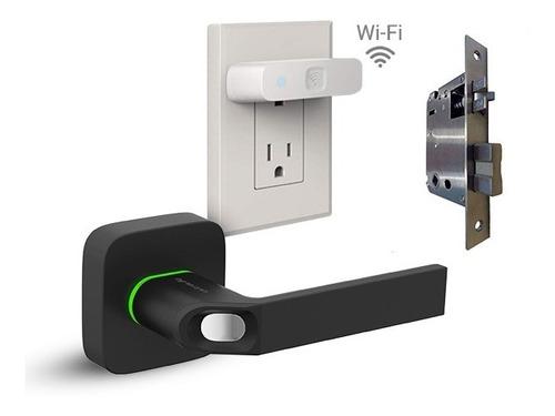 Cerradura Ultraloq Ul1 Blk +bridge +cerrojo Huella Wi-fi