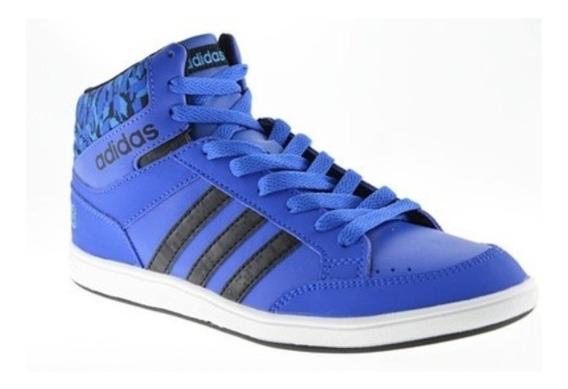 adidas Hoops Mid K (bota Azul Rey)