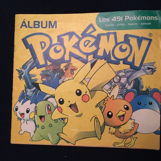 Ae Album Pokemon. Los 491 Pokemons