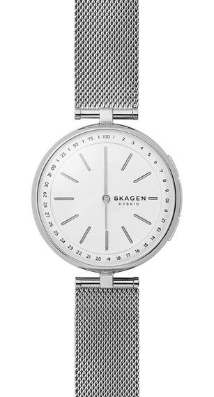 Smartwatch Híbrido Dama Signatur Skt1400 Color Plata