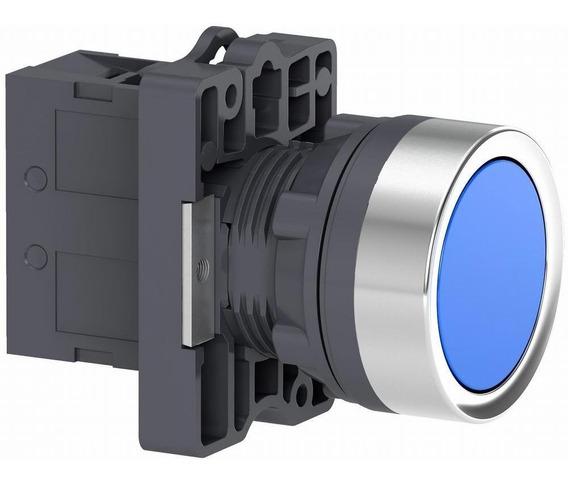 Pulsador Rasante 1na Azul Linea Xa2 Schneider Electric