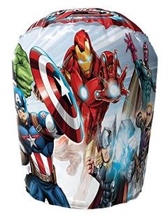 Hedstrom Avengers Bop Inflable Guantes De Boxeo 2 Pieza Roj