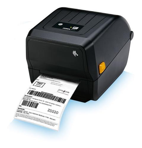 Impressora De Código De Barras Zebra Zd220 (nova Gc420t)