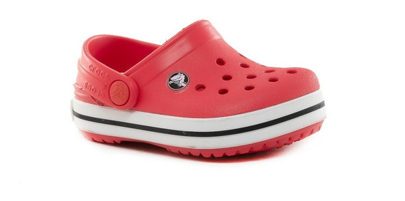 Zuecos Sandalias Crocband Kids Red Crocs Sport 78