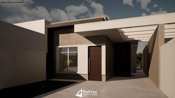 Casa Para Venda Em Araucária, Campina Da Barra, 2 Dormitórios, 1 Banheiro, 2 Vagas - _2-1059323