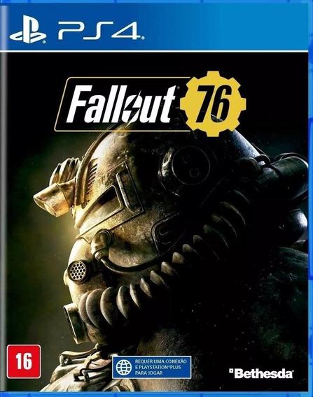 Jogo Fallout 76 Playstation 4 Ps4 Lacrado Físic Frete Grátis