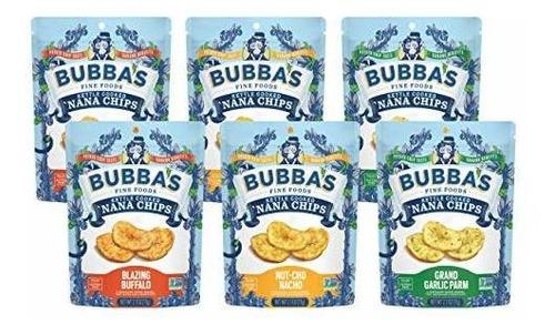 Imagen 1 de 9 de Bubba Fine Foods Paleo, Vegano, Chips De Nana Sin Gluten