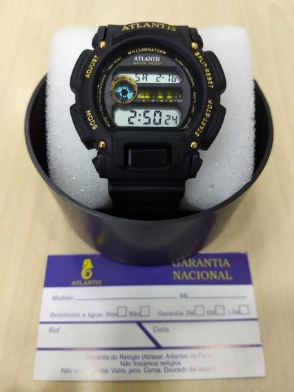 Relógio Original Atlantis Estilo Casio G.shock Frete Gratis