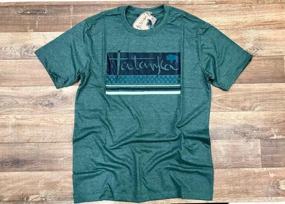 Camiseta Country Masculina Verde Mescla Original