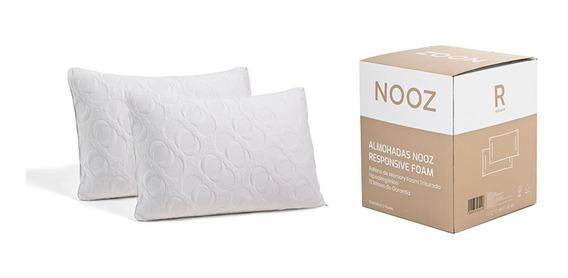 Almohadas Nooz Memory Foam, 2 Pack King