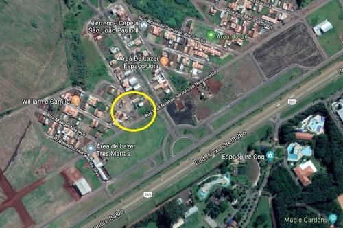 Terreno Em Zona Mista, Comercial E Residencial No Loteamento Parque Das Oliveiras, 10 X 20 M, Otima Localização Na Rua Principal - Te00265 - 34201398