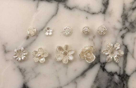 Perlas En Forma De Flor Para Pegar X 50 A Elección. Oferta!