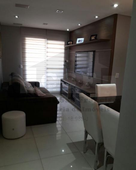 Excelente Apartamento Mobiliado De 70m² Distribuídos Em 3 Dormitórios Sendo 1 Suite, Vila Yara - Ap13675 - 34653147