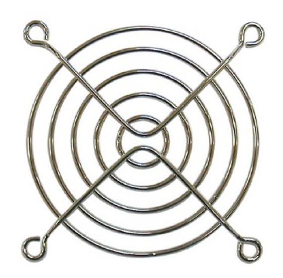 Rejilla Turbina Cooler Metalica Fan 4 Pulgada 120x120mm