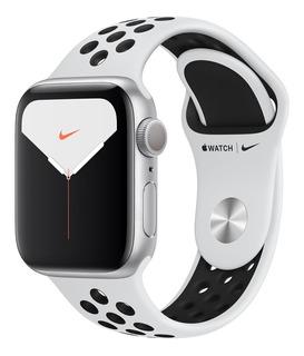 Apple Watch Serie 5 - 44mm - Nike Silver