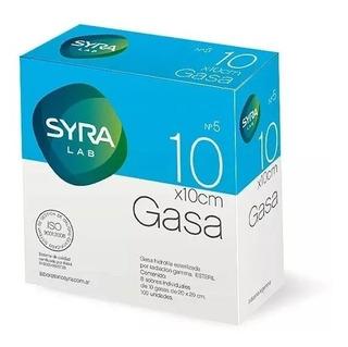 Gasa Esteril Syra N5 10x10 15x15 20x20 (3 Cajas)
