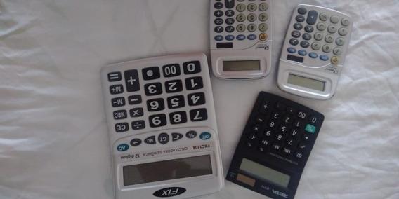 4 Calculadora Mesa Kenko Display 8e 12 Digito Atacado Sem Cx