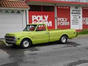 Hermosa Camioneta Chevrolet Pickup 1969 De Coleccion