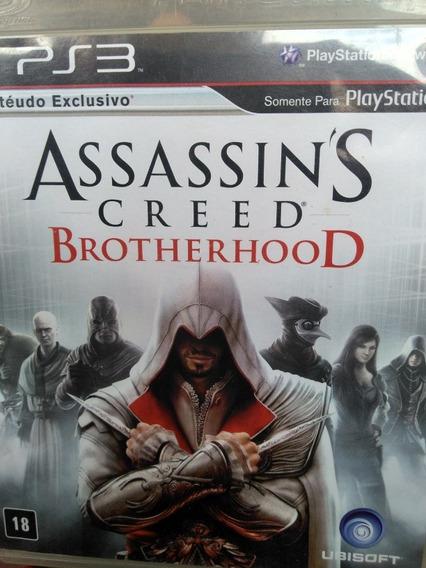 Assassins Creed Brotherhood Ps3 Original , Leia A Descriçao