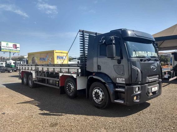 Ford Cargo - 2429 - 6x2 - Carroceria - 4º Eixo - 2013