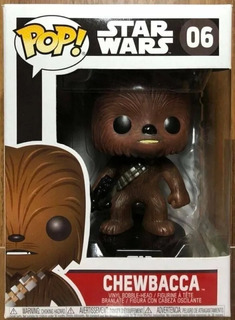 Funko Pop Star Wars 06 Chewbacca Nuevo