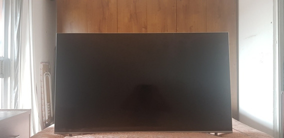 Smart Tv Qled 55 Samsung Q6f 4k Hdr Com Tela Quebrada
