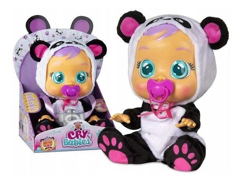 Imagem 1 de 5 de Boneca Pandy Chora Lágrimas De Verdade Cry Babies Multikids