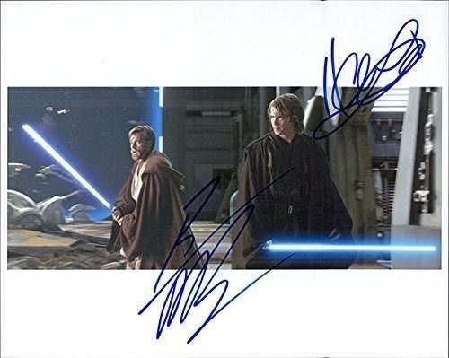 Imagen 1 de 1 de Firmado Star Wars (hayden Christensen / Ewan Mcgregor) 8x10