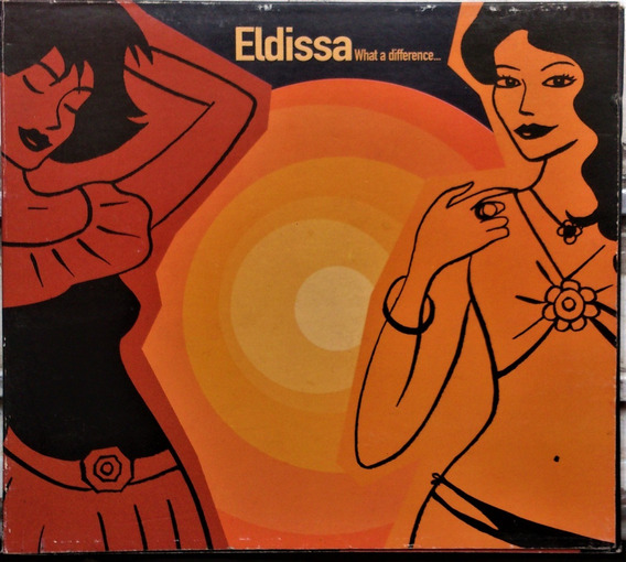 Cd Eldissa - What A Difference - Cd Tipo Digipack