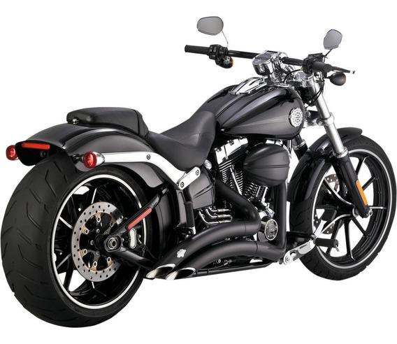 Escapamento Vance & Hines Big Radius 46065 Harley Breakout
