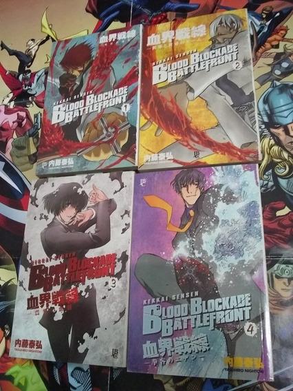 Blood Blockade Battlefront Vol. 1 Ao 4 Jbc