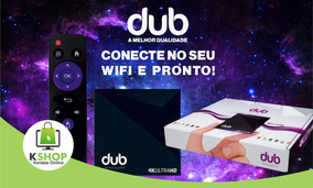 Receptor Dub Box 4k Iptv (envio Imediato)