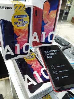 Celular Samsung A10 32gb De Regalo Sdcard 32gb (elektra Sc)