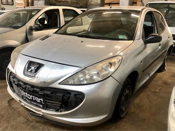 Peugeot 207 1.4 N 5 P No Chocado Con Faltantes Al Dia