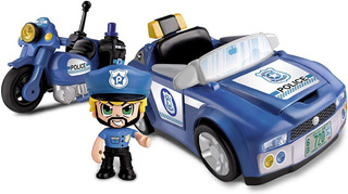 Pinypon Action Policia- Vehículos De Acción Action Figure